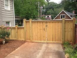 Wood Fence Gate Pictures Capped Privacy Fences Alpharetta Marietta Ga Accent Fence Woodsinfo