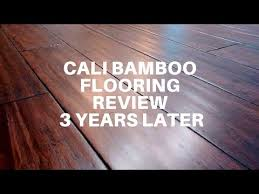cali bamboo flooring review 3 years