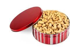 jumbo cashew gift tin 1 5 lbs gift