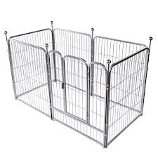 Okdeals Heavy Duty Pet Playpen 6 Panel Folding Metal Dog Exercise Fence With Door Fit For Indoor Hall Doorway Stairs Fits Small Medium Animals On Galleon Philippines