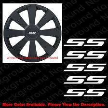 For 5 Pc X Chevrolet Chevy Bowtie Die Cut Vinyl Decal Car Wheel Cap Camaro Ss Rc113 Car Stickers Aliexpress