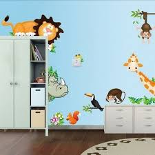 Good And Cheap Products Fast Delivery Worldwide Wall Stickers Kids Room Forest Animals In Shop Onvi