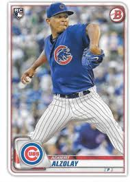 Amazon.com: 2020 Bowman #19 Adbert Alzolay Chicago Cubs (RC - Rookie Card)  NM-MT MLB: Sports Collectibles