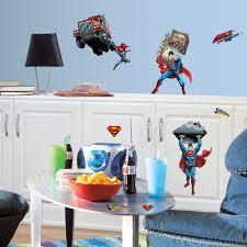 Dc Comics Superman Wall Decals