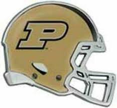 Purdue Boilermakers Metal Helmet Auto Emblem New Ncaa Car Decal Truck Chrome 614934436806 Ebay