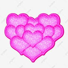 ورد وردي على شكل قلب روز ناقلات وردي قلب Png والمتجهات للتحميل