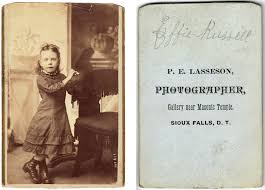 Effie Russell | Rescued this 125 year old photo from a pile … | Flickr