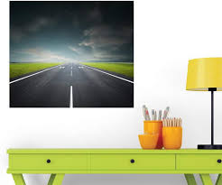 Amazon Com Wallmonkeys Wm152021 Airport Runway Peel And Stick Wall Decals 30 In W X 26 In H Medium Large Home Kitchen