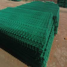 Green Welded Safety Fence Galvanized Rigid Hard Wire Mesh Panel Buy Rigid Hard Wire Mesh Panel Green Vinyl Coated Welded Wire Mesh Fence Galvanized Steel Wire Mesh Panels Product On Alibaba Com