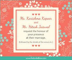 50 wedding invitation wording ideas you