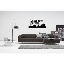 Shop City Chase Your Dreams Wall Art Sticker Decal Free Shipping On Orders Over 45 Overstock 11526086