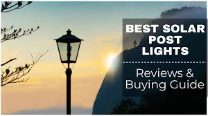 The 9 Best Solar Post Lights Reviews And Buying Guide
