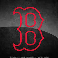 Boston Red Sox B Logo Vinyl Decal Sticker 4 And Larger Sizes Available Mlb Ebay