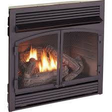 vent free dual fuel fireplace insert
