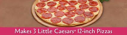 thin crust pizza kit little caesars