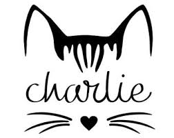 Cat Decal Etsy