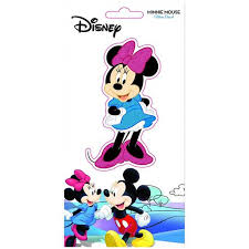 Disney 47267 Disney Minnie Mouse Glitter Decal Sticker Walmart Com Walmart Com