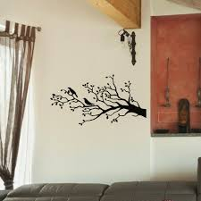 Shop Ravens On The Tree Branch Vinyl Wall Art Decal Sticker Overstock 10644670