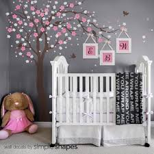 Tree Wall Decals Cherry Blossom Tree Decal Ceiling Style Etsy