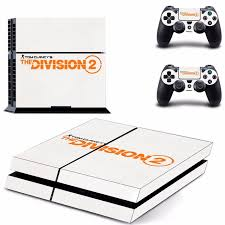 Tom Clancy S The Division 2 Ps4 Skin Sticker Consoleskins Co