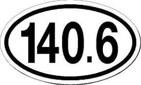Buy Ironman Triathlon 140 6 Vinyl Euro Decal Bumper Sticker 3 X 5 In Cheap Price On Alibaba Com