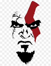 God Of War Omega Collection T Shirt Stencil Kratos God Of War Fictional Character Silhouette Png Pngegg