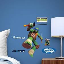 Shop Fathead Teenage Mutant Ninja Turtles Leonardo Fathead Teammate Decor Wall Vinyl Free Shipping Today Overstock 17747144