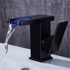 jess modern led waterfall single handle