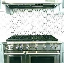 mirror tiles kitchen backsplash