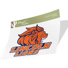Lincoln University Pa Lions Ncaa Vinyl Decal Laptop Water Bottle Car Scrapbook Sticker 00011a Walmart Com Walmart Com