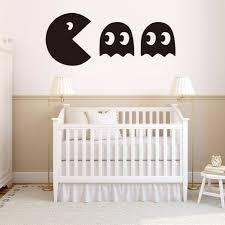 Pacman Game Vinyl Wall Decal Home Decor Bedroom Diy Wallpaper Removable Wall Stickers Gift Wall Sticker Removable Wall Stickersvinyl Wall Decals Aliexpress