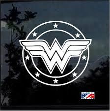 Car Truck Decals Stickers Wonder Woman Dc Comics Decal Any Size Any Colors Car Truck Jeep Motors Car Truck Parts