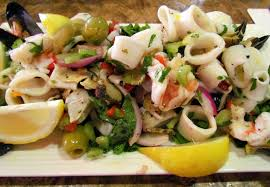 Italian Mixed Seafood Salad