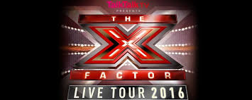 the x factor 2016 live tour gigs and