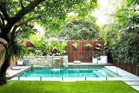 tropical pool garden design ideas