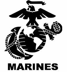 Marine Corps Decal For Cars Usmc Gifts Military Decals Marine Gifts Car Accessories Support Our Marines Logo Marine Corps Tattoos Usmc