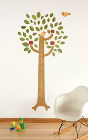 Tree Growth Chart Wall Decal Walldecals Com