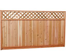 Wood Fence Panels Wood Fencing The Home Depot Canada