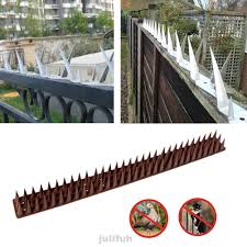 10pcs Set Yard Home Cats Roof Electrical Equipment Anti Climbing Foxes Fence Wall Spikes Shopee Philippines