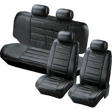 leather effect car seat covers set