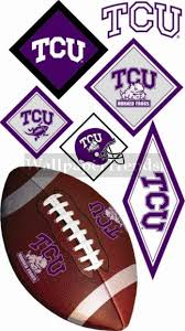 Tcu Texas Christian University Horned Frogs Wall Decals Removable Wall Stickers Free Shipping Available