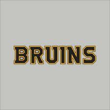 Boston Bruins 2 Nhl Team Logo Vinyl Decal Sticker Car Window Wall Cornhole Ebay