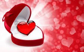 خلفيات قلوب حب