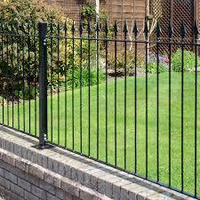 Metal Fence Bolt Down Lemon Fencing Specialist In Essex