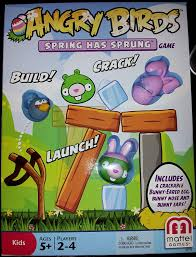 Amazon.com: Angry Birds Spring Has Sprung Easter Board Game: Toys ...