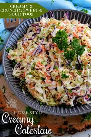 home style creamy coleslaw lord byron