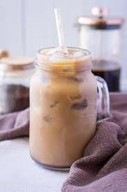 cold brewed iced mocha latte natalie