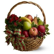 holiday fruit basket aaa flower