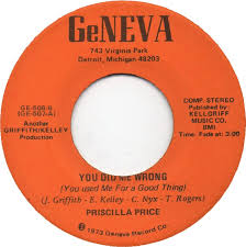 45cat - Priscilla Price - Mama / You Did Me Wrong [You Used Me For A Good  Thing] - GeNeva - USA - GE-508