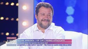 I detrattori di Matteo Salvini - Live - Non è la d'Urso Video ...